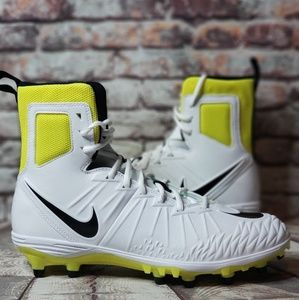 🆕️Nike Force Savage Football Cleats Yellow White